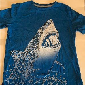 Boys old navy shark graphic T-shirt